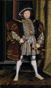 hans holbeing king henry viii